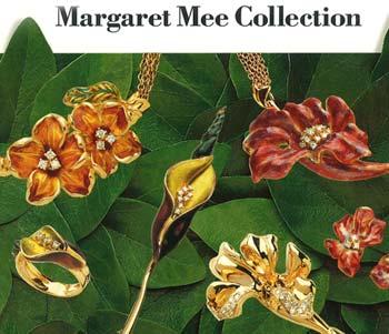 Jóias inspiradas no trabalho de Margaret Mee - Acervo H.Stern