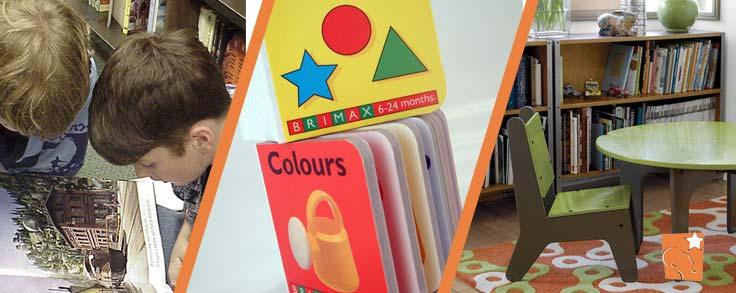 Criar uma biblioteca para seu filho pode incentivá-lo a ler
